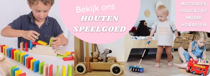 Bekijk ons houten speelgoed