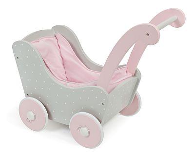 Speelgoed Garage Hout : Houten poppenwagen puntos grijs poppenwagen webwinkel