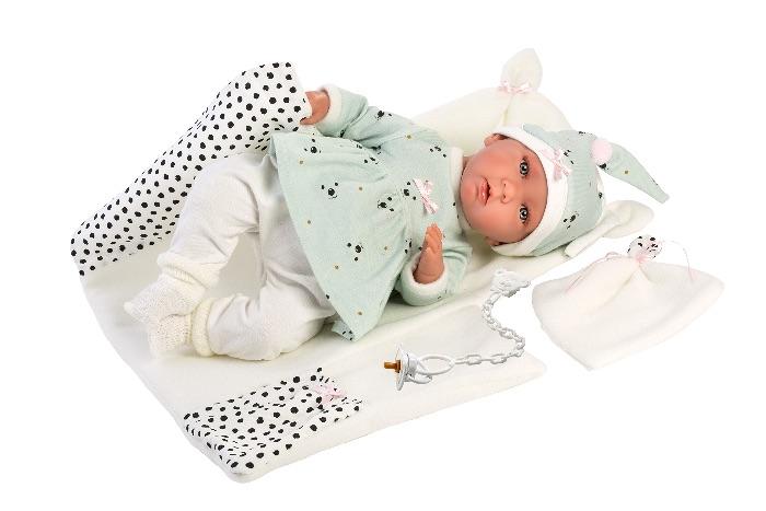 Babypop Mimi Llorona met verschoonmat 42 cm