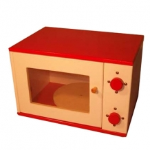 Magnetron wit rood