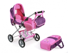 Chic 2000 Poppenwagen Bambina Dot Purple Pink