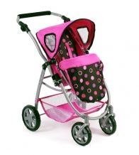 Bayer Chic 2000 Poppenwagen Emotion 2 in 1 Pinky Balls