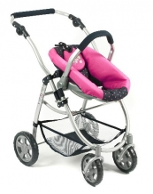All in One poppenwagen met reiswieg en Maxi Cosi  63712