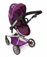 Bayer Chic 2000 Poppenwagen Yolo 2 in 1 Pflaume 59325