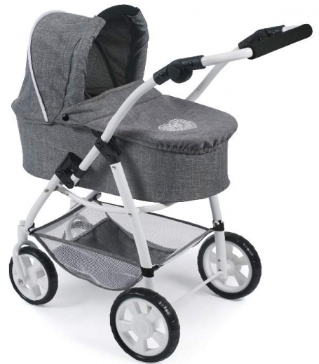 Combi Poppenwagen Emotion 2 in 1 Jeans Grey
