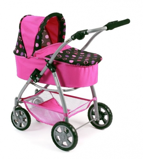 All in 1 Combi Poppenwagen Emotion Pinky Balls 63748