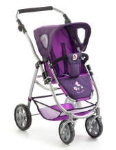 All in 1 Combi Poppenwagen Emotion met Reiswieg en Maxi-Cosi Pflaume 63725