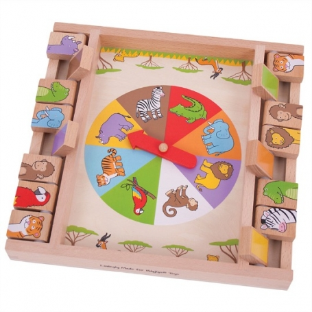Animal Shut the box Bigjigs