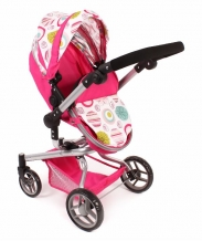 Chic 2000 Poppenwagen Yolo 2 in 1 Pink 59307