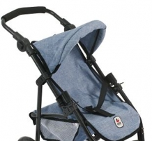 Bayer Chic 2000 - Poppenwagen Jogger Lola - Blue Jeans