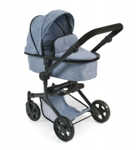 Bayer Chic 2000 - Combi poppenwagen Mika - Blue Jeans