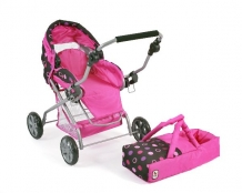 | Luxe Poppenwagen Piccolina Pinky Balls