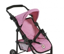 Poppenwagen Jogger Lola Jeans Pink